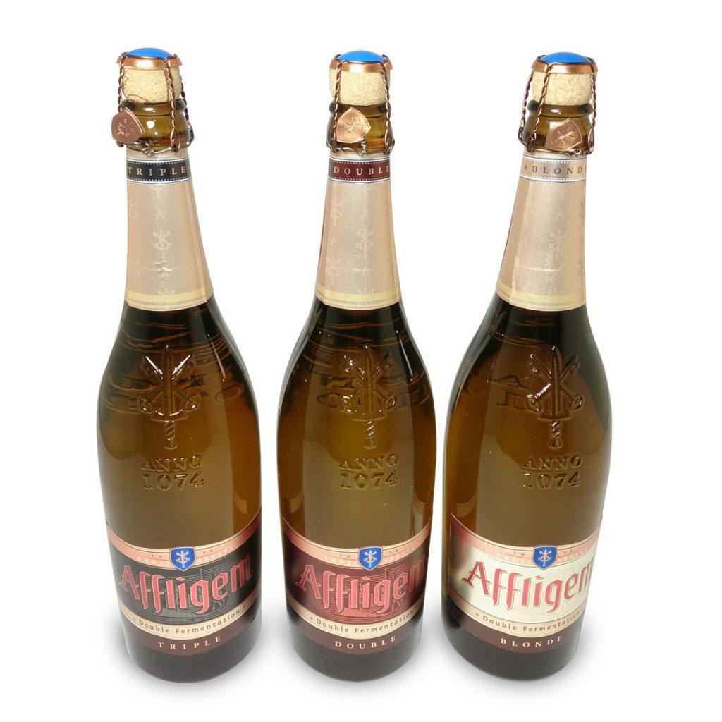 label mockup dummy packaging affligem bier nederland