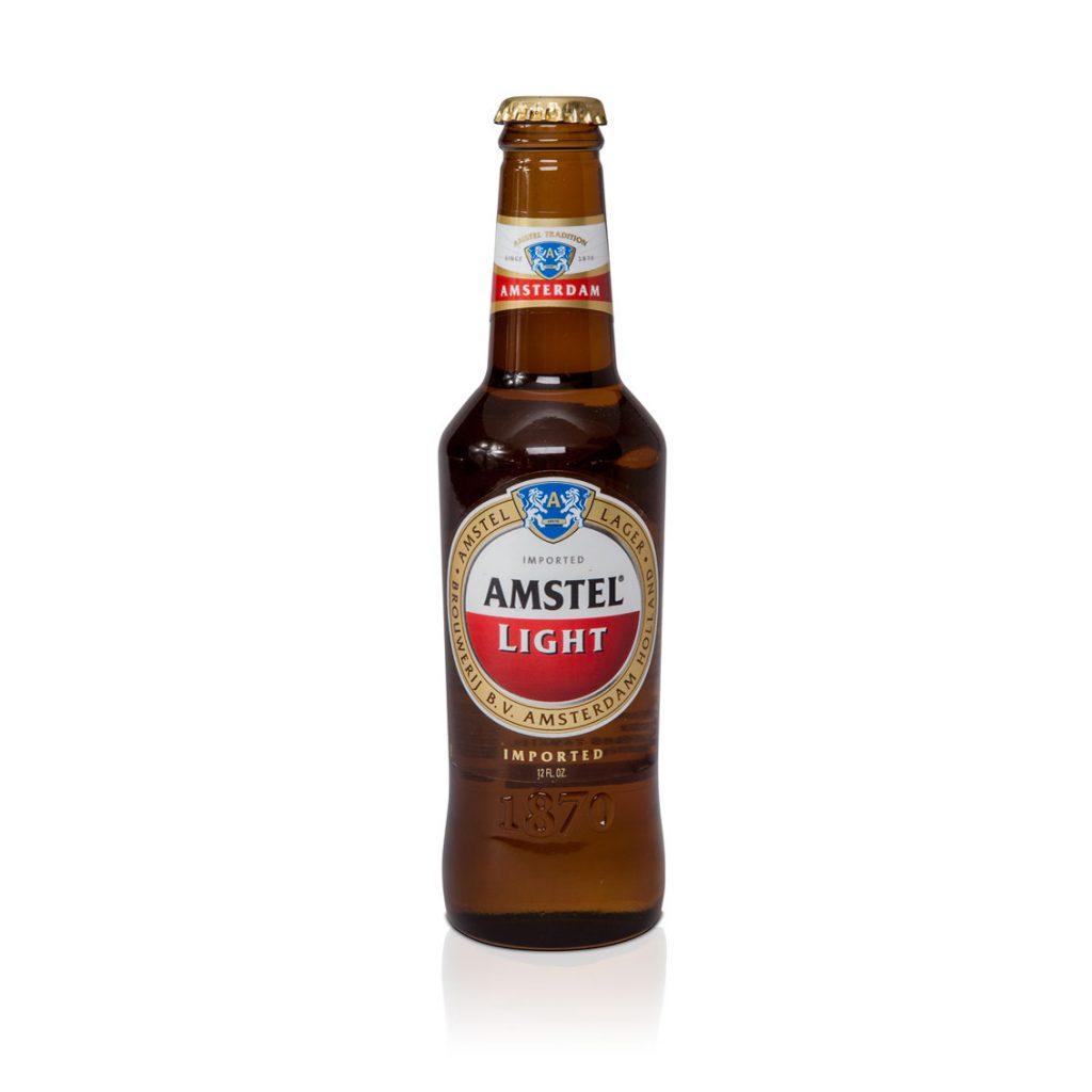 label mockup dummy packaging amstel bier amsterdam