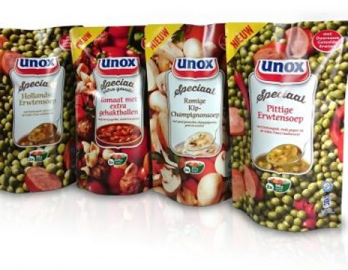 doypack mockup dummy packaging unox soep pouche amsterdam 2