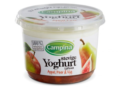 label mockup dummy packaging campina stevige yoghurt nederland 2