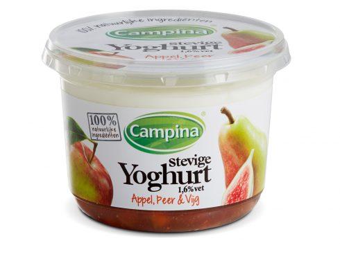 label mockup dummy packaging campina stevige yoghurt nederland 2