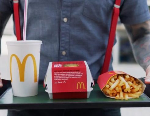 mockups dummy packaging mcdonalds serie nederland 2