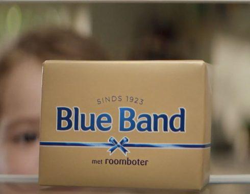 wikkel mockup dummy packaging blue band roomboter